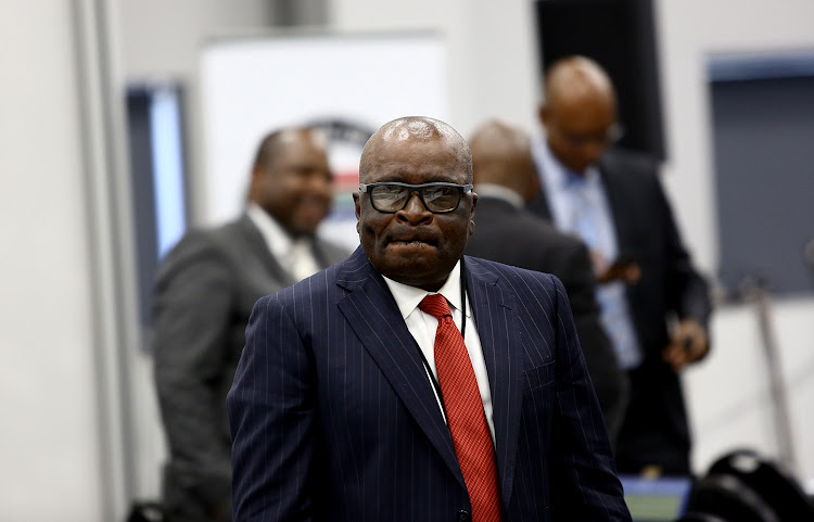 Former mineral resources minister and ANC NEC member Ngoako Ramatlhodi at the commission of inquiry into state capture.