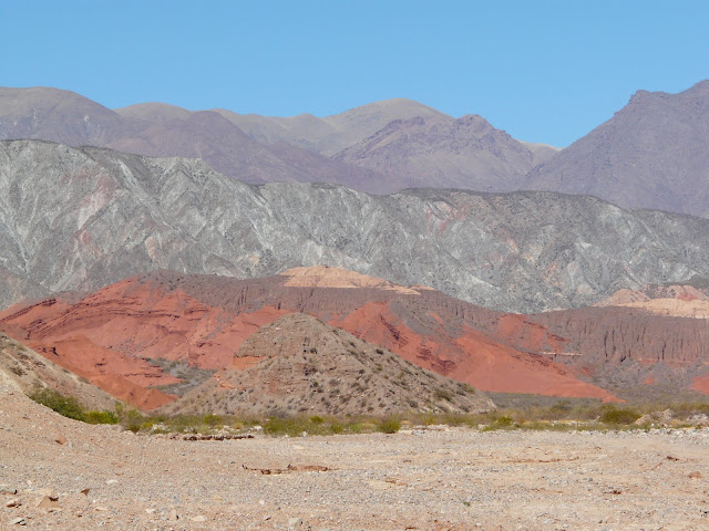 There are some pretty amazing colors in the landscape