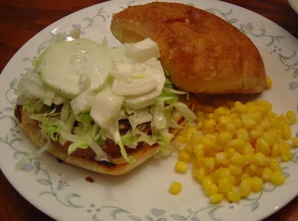 Gyro-style Veggie Burger Recipe
