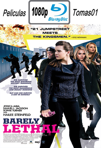 Barely Lethal (2015) BRRip 1080p