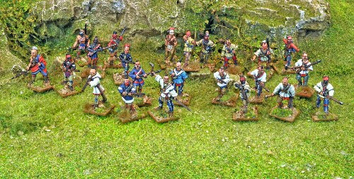 Indians North Star de Muskets and Tomahawks