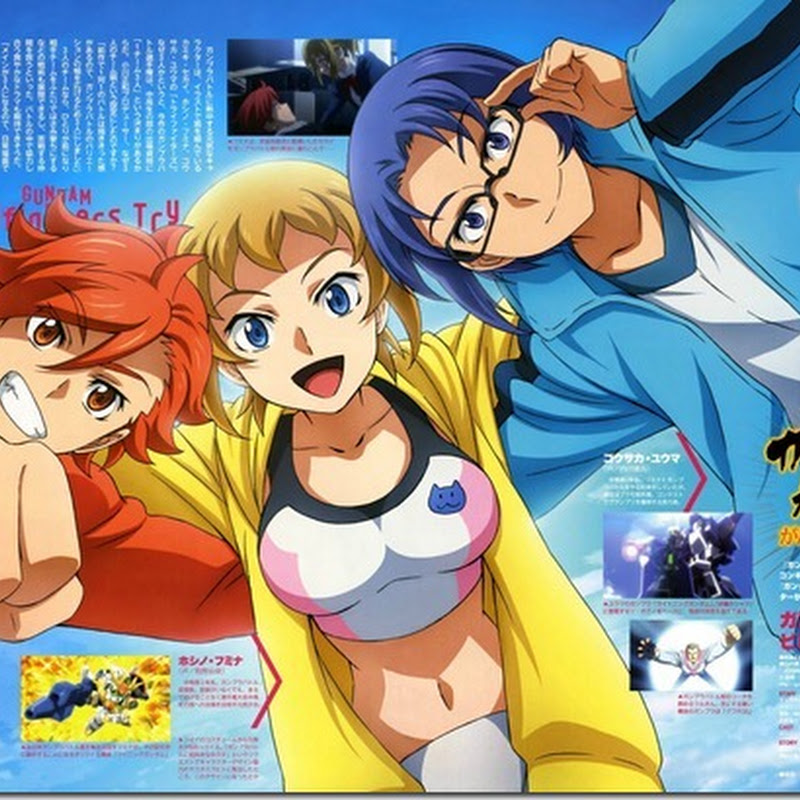 [Review] Gundam Build Fight Try