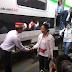 Kunker di Sukabumi, Rini Sumarno Naik Kereta Turun di Stasiun Cibadak