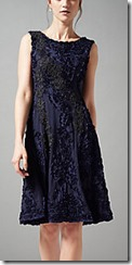 Phase Eight navy tapework dress