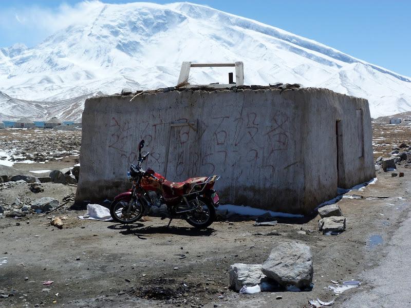 Arrivée au lac Karakul