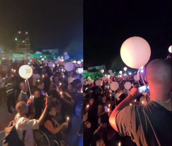 Celebrities, friends and fans gather for Sound Sultan's candlelight night (video)