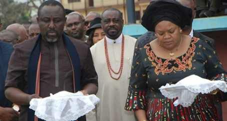 My Wife Controls Four Ministries - Okorocha Reveals as Wife Wins 'Best Governor's Wife' Award