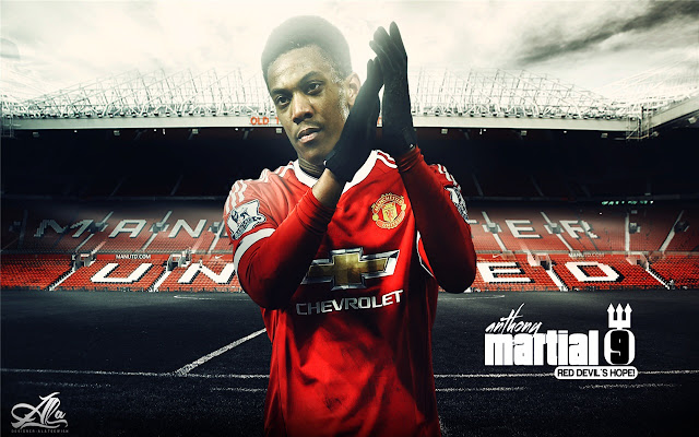 Anthony Martial Themes & New Tab