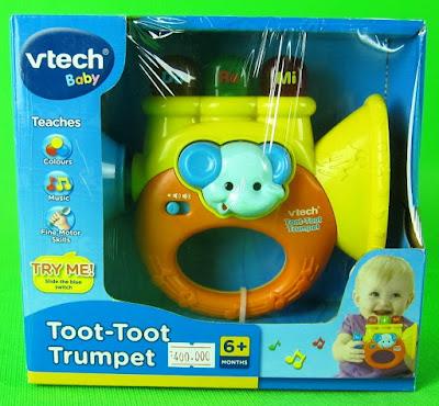 Hình ảnh hộp Đồ chơi Kèn Vtech Toot-Toot Trumpet
