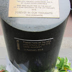 Sydney - Gedenkstein vor dem Hilton
