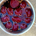 Quick pickled beetroots