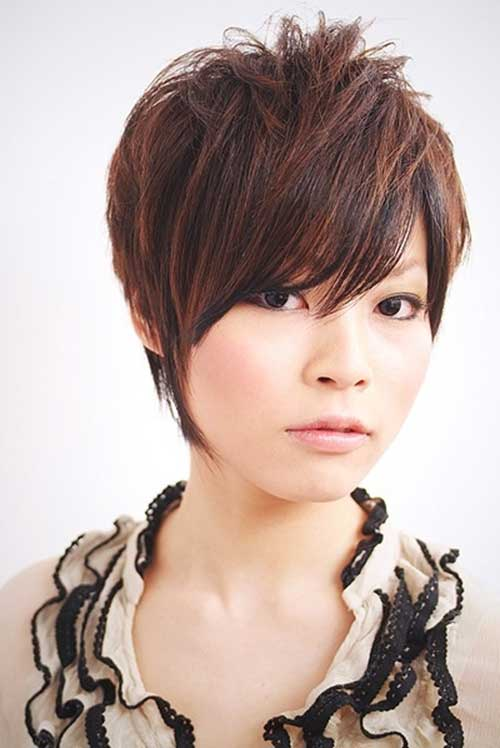 Hairstyles For Short Hair Casual : Short simple Casual Short Cute Hairstyle Fashion Qe