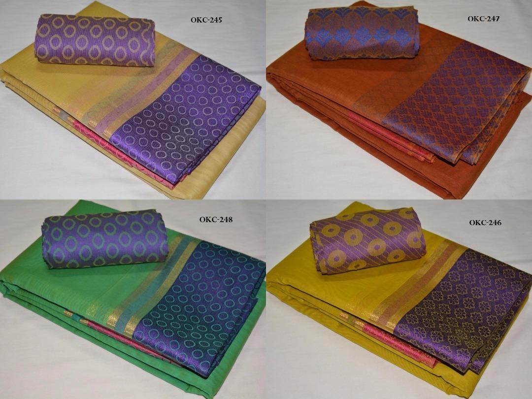 6198f682df89c9 PB   Kora Cotton Saree  Rs. 1450