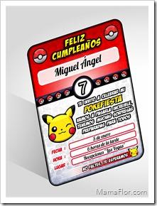 Tarjeta Pokemon Imprimible Kit Gratis