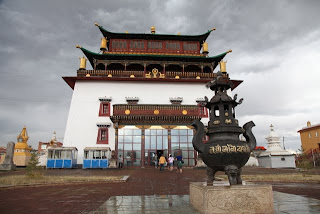 Odkrivanje samostana Gandan, kjer je živel 13. Dalajlama