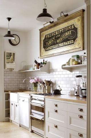 FlowersChicArts : Le cucine shabby chic