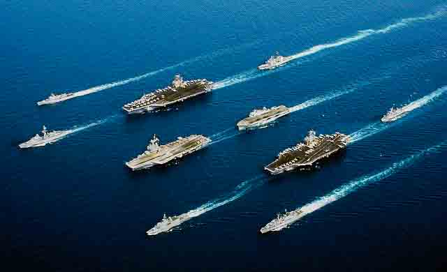 Navy exercise China Iran