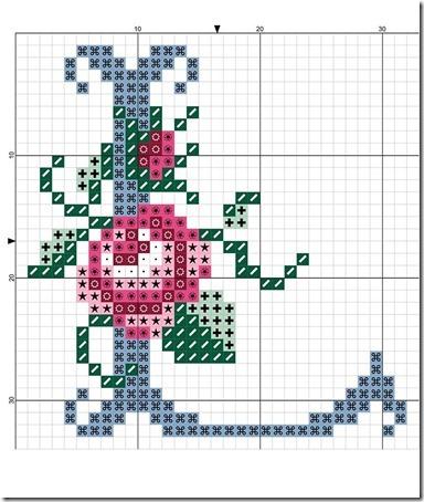 abc punto cruz letras con rosas  (11)