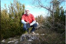 Moraza mendiaren gailurra 1.054 m. -- 2016ko otsailaren 8an