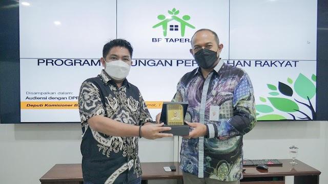 Kunjungi BP Tapera Waket DPRD Kalsel Minta Agar Honorer Dapat Fasilitas Kepemilikan Rumah