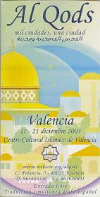 Al Quds. 2003. Centro Cultural Islámico de Valencia
