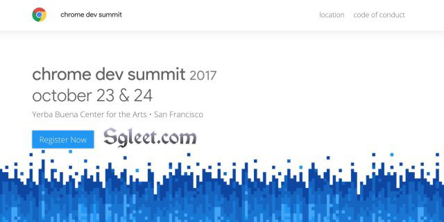 CHROME DEV SUMMIT 2017 IN SF