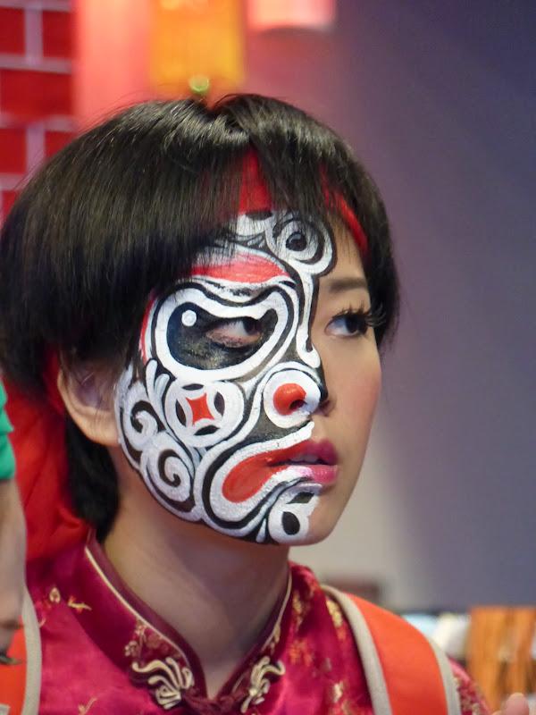 Taipei. Maquillage au Thinker s theater à Di Rua jie 迪化街 - maquillage1%2B014.JPG
