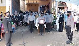 Upacara Pemberangkatan dan Pemakaman Jenazah Ipda (Purn) Amiruddin