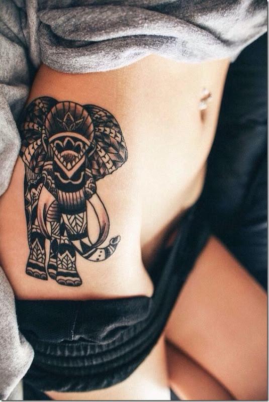 séduisante de la hanche tatouages pour les femmes - idées et photos