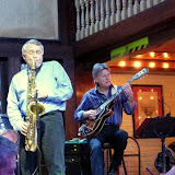 "The featured group for the January Jazz Gumbo was ""Infusion"", with Thom Botsford (sax), Danny Grundhoefer (keyboard), Jim Armstrong (guitar), Rich Lee (bass) and Jack Wolverton (drums). Special guest Destiny Howard sang with the group for a few tunes."