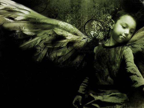 Sadness Of Little Angel, Angels