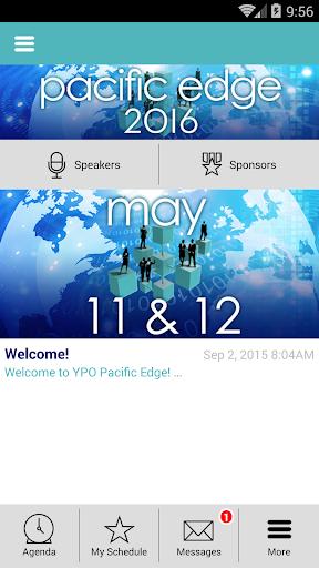 YPO Pacific Edge 2016