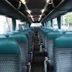 Het interieur van de Bova Futura van Connexxion Tours bus 170