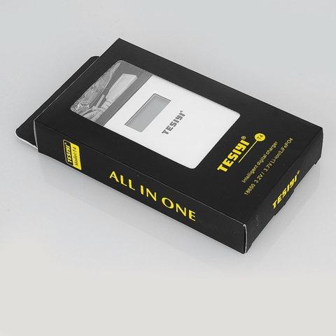 authentic tesiyi t4 smart digital charger for 18650 battery white 4 x slots%2B%25281%2529 thumb%255B2%255D - 【海外】「Wotofo Serpent SMM RTA」「Advken Gorge 24mm BF RDA」「Sigelei Fuchai Duo - 3 175W TC Mod」「Tesiyi T4 スマートデジタルチャージャー」など