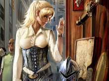 blondes women witchblade fantasy girls 1152x864 wallpaper