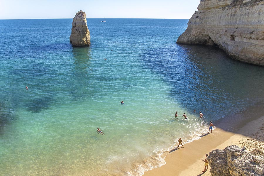 Playa Carvalho, Algarve