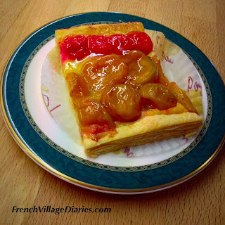 French Village Diaries patisserie challenge tartelette aux fruits boulangerie