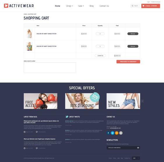 Activewear Shopify Theme for free