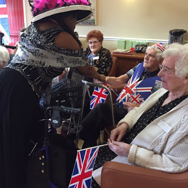 To Celebrate VE Day Residents At Our Regency House Care Home In Cardiff Were