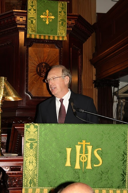 William B. Traxler, Chief Justice of the Fourth Circuit U.S. Court of Appeals, gives his thoughts about the day on behalf of the Fourth Circuit.