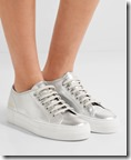 Common Projects Metallic Leather Sneakers