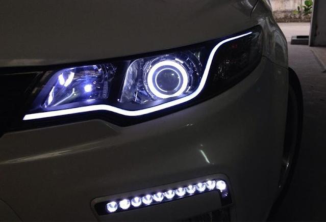 Gắn đèn LED cho xe ôtô có bị phạt không?