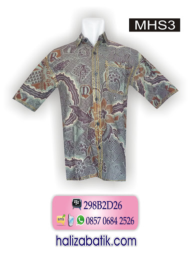 atasan batik, contoh gambar batik, model batik modern