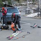 depart ski au pied...on dirait pas et pourtant!