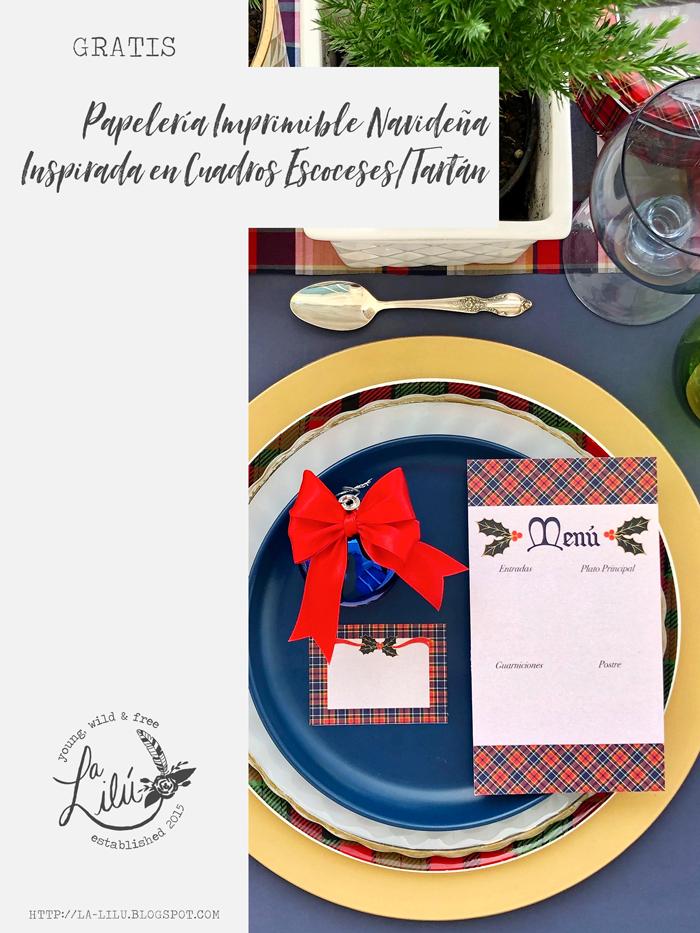 mesa, decoración, Navidad, fiestas, cena, brunch, almuerzo, tarjeta menú, de lugar