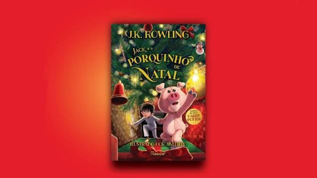"""Confira a entrevista com J.K. Rowling de seu novo livro """"Jack e o porquinho de Natal"""""""