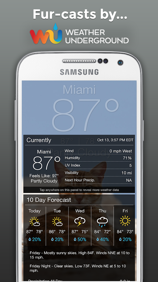 Weather BUB- screenshot