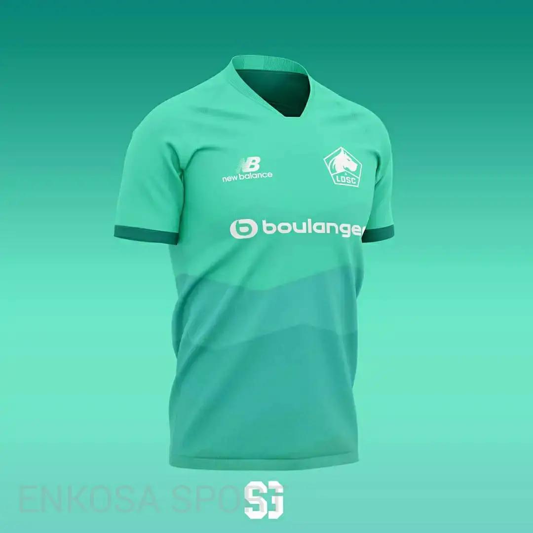 gambar ringan jersey ketiga untuk artikel Bocoran Jersey Lille Losc Musim 2020/2021 New Balance Konsep