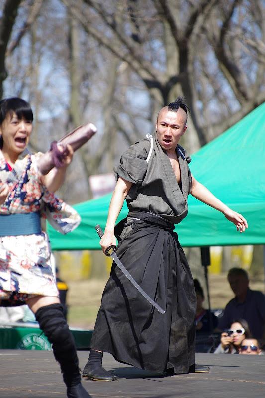 櫻花祭表演側拍