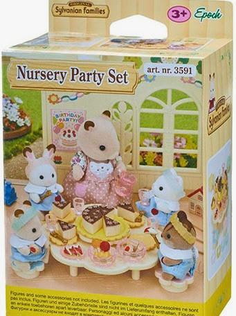 Hình ảnh bao bì sản phẩm Bữa tiệc búp bê mẫu giáo Nursery Party Set